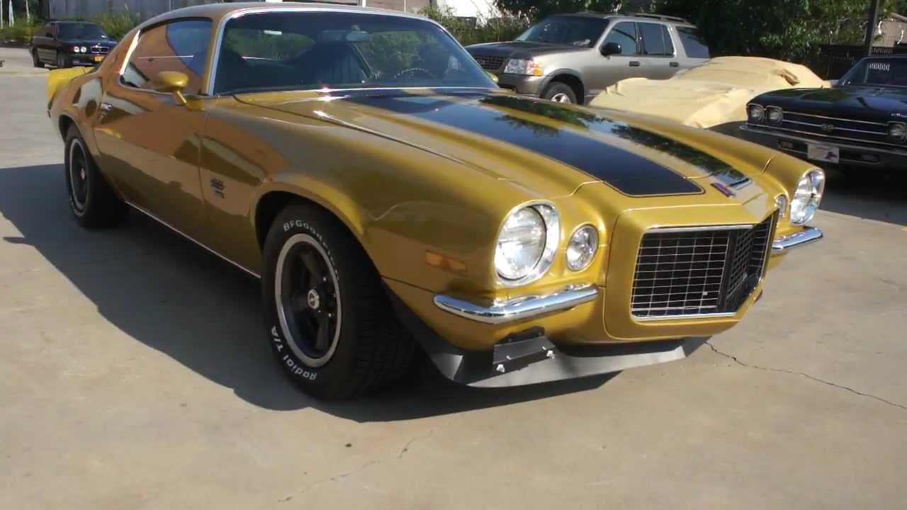 1972 Camaro Rs Ss 396 For Sale Maybe The Last Big Block