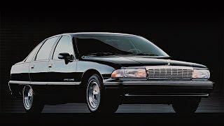 Chevrolet Caprice Шевроле Каприз обзор тест-драйв