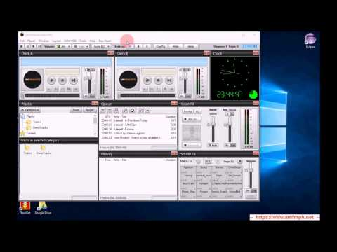 Part 3   How to webcast using Sam Broadcaster PRO trial without Centova AutoDJ features