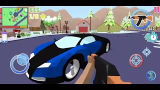 Dude Theft Wars #129 | Where to Find BUGATTI VEYRON 👍🔥 | NEW WINTER UPDATE | Android GamePlay FHD