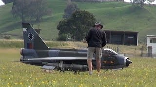 Large jet-powered RC plane goes home in a bag
