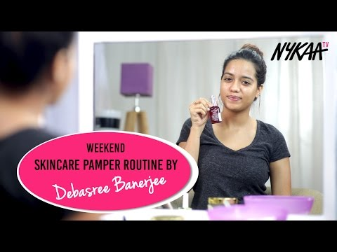 Weekend Skincare Pamper Routine + GIVEAWAY(CLOSED) | Debasree Banerjee
