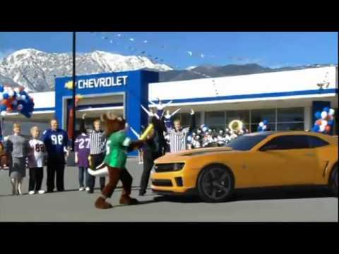 Camaro on Superbowl Camaro Transformers Bumblebee Commercial Video