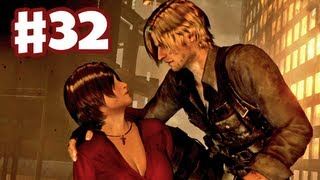 Resident Evil 6 - Saving Ada - Leon Gameplay Walkthrough Part 32 (Co-op)