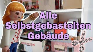 Pimp my Playmobil deutsch - Alle selbstgebastelten Gebäude - Playmobil & Co