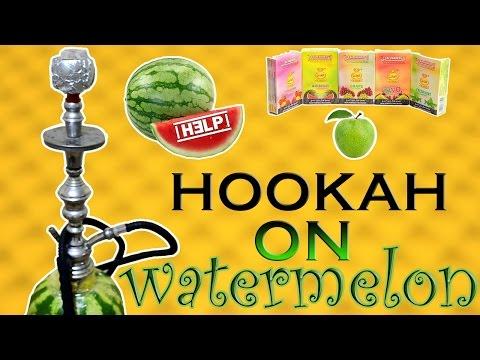 Кальян на АРБУЗЕ /  Hookah on watermelon !!!