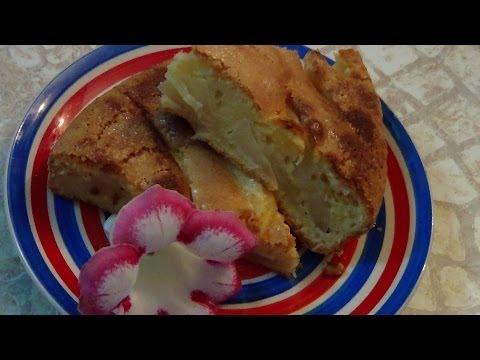 ВКУСНО НЕОБЫКНОВЕННО! Пирог заливной с яблоками