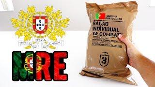 PROVEI A COMIDA DO EXÉRCITO DE PORTUGAL ! A MELHOR DE TODAS ??