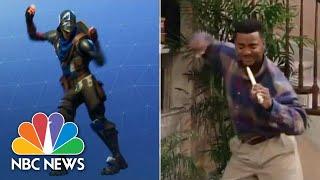 Dance Debate: Compare 'Carlton' Dance To 'Fortnite' Dance | NBC News