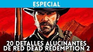 20 DETALLES ALUCINANTES de RED DEAD REDEMPTION 2, el esperado juego de ROCKSTAR (con Gameplay)