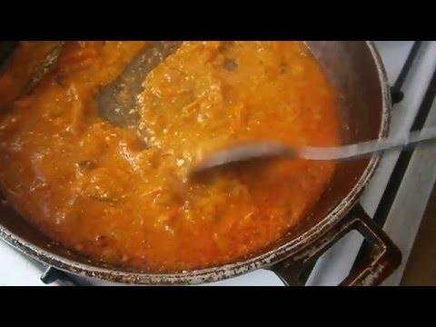 Как сделать подливу к макаронам с мясом видео