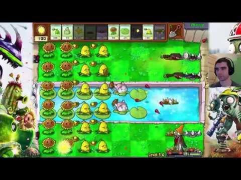 Kanonada nad zalewem - Plants vs Zombies #10