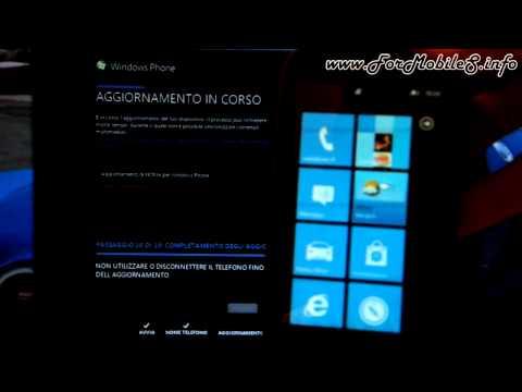 Aggiornamento software di Nokia Lumia 610 utilizzando Zune