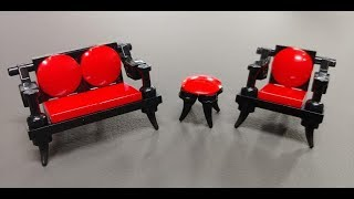 Lego Antique Chair Couch Instructions