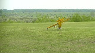 OOPS another CRASH RC Airplanes and Lots of FUN many Planes Flying