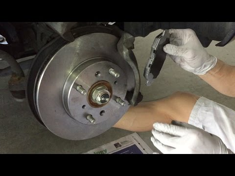 Tutorial: Change 2002 Honda Accord Brake Pads and Rotors