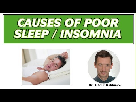06-A-Causes of Poor Sleep, Insomnia, Brain Oxygen Levels and Breathing