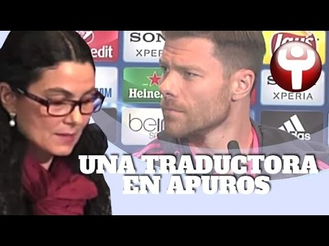 La traductora que sacó de quicio a Guardiola, Xabi Alonso y Simeone