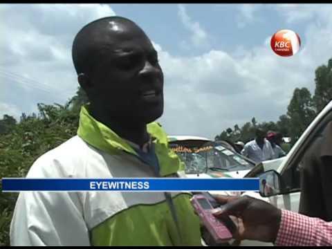 10 people hospitalized following accident along Kakamega - Webuye road