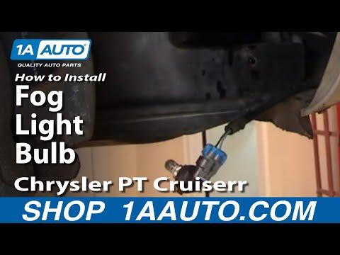 How To Install Repair Replace Fog Light Bulb Chrysler PT Cruiser 01-05 1AAuto.com