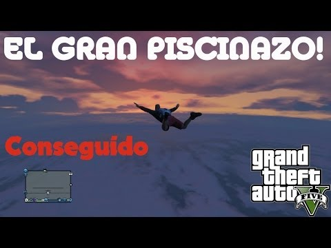 GTA V - EL GRAN PISCINAZO - CONSEGUIDO @LuzuGames