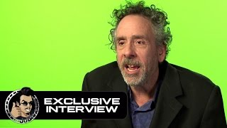 "Tim Burton ""I want to see Batman vs. Godzilla"" - Miss Peregrine's Home for Peculiar Children"