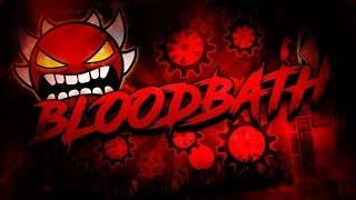 Geometry Dash 2.1 - New/Buffed/Harder Bloodbath (Impossible Demon) de Riot y ya xD (Hackeado)