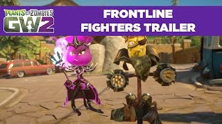 Frontline Fighters Gameplay Trailer | Plants vs. Zombies Garden Warfare 2 | Free Update