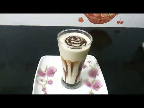 Cold coffee in telugu // how to make cold coffee // cold coffee milkshake preparation