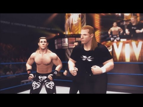 WWE '12: Attitude Era - Shawn Michaels vs Triple H - Last Man Standing (World Heavyweight Title)