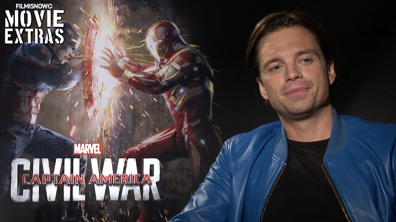 Anthony Mackie & Sebastian Stan talk about Captain America: Civil War (2016)