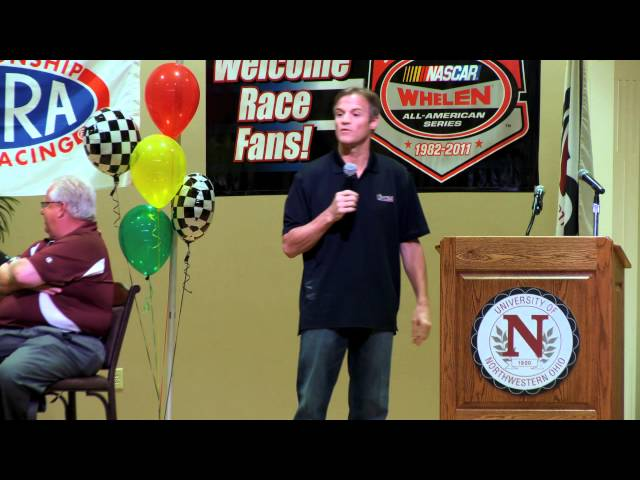 Kenny Wallace Speech at UNOH