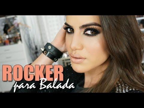 Maquiagem Rocker chic para Balada