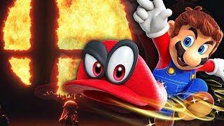 Mario (Odyssey)'s Smash Bros. Switch Moveset! (Theory/Ideas) | Zeltik