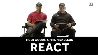 Tiger Woods, Phil Mickelson Give Their Takes on Awful Viral Golf Swings