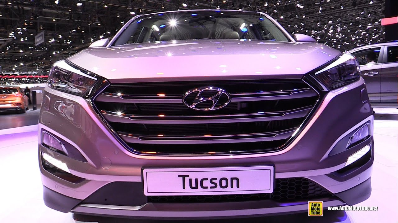 2016 Hyundai Tucson Exterior