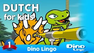 DinoLingo Dutch for kids - Learning Dutch for kids - Dutch lessons