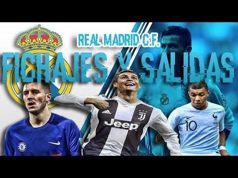 FICHAJES Y SALIDAS DE REAL MADRID 2018/2019 | OFICIAL: CRISTIANO A LA JUVENTUS thumbnail