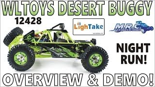 WLTOYS 12428 Waterproof Desert Buggy Unboxing and Running! (RC Courtesy of Lightake) EP#318
