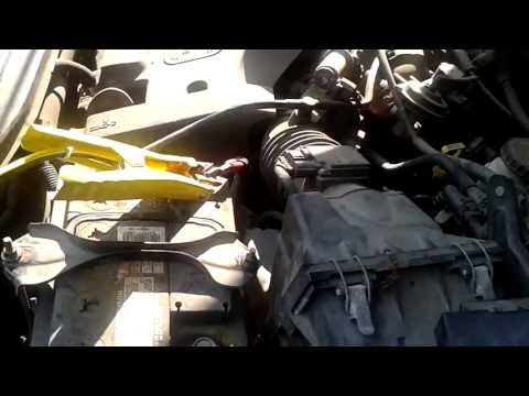 2004 Ford Escape Starting Issues