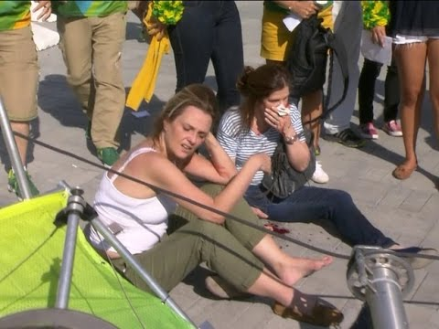 Câmera desaba no Parque Olímpico e fere duas pessoas