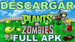 Descargar PLANTS VS ZOMBIES (1) ANDROID - Full Gratis - Apk + datos SD [Link RESUBIDO]