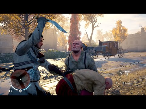 Sly Gameplay - Assassin's Creed Syndicate Funny/Brutal Fighting Takedowns Compilation Vol.1