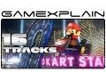 16 Tracks in Mario Kart 8 w/ Direct Audio (Wii U)