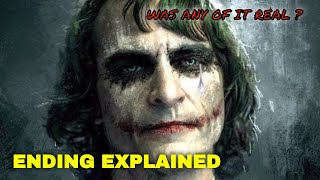 THE JOKER 2019 ENDING EXPLAINED AND REVIEW ( Was It Real ?)