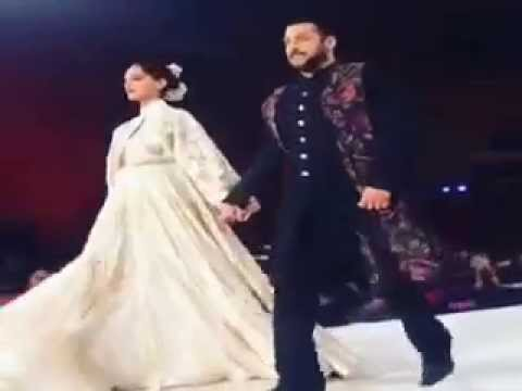 Salman Khan, Sonam Kapoor Walks the ramp at Khadi Fashion Show in Ahmedabad
