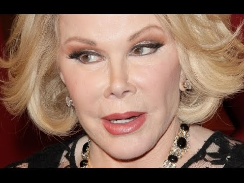 Joan Rivers Dead Two Months After Calling Obama Gay, Michelle a Tranny