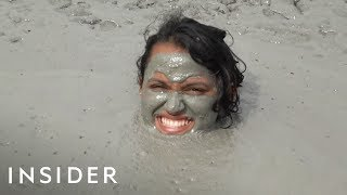 Trinidad Mud Pool Is A Natural Spa
