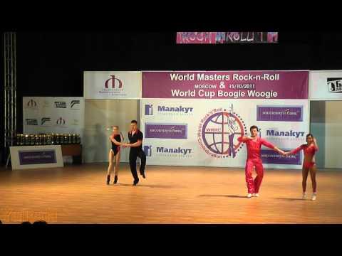 Panferov - Shatokhina (RUS) & Caffi - Grezet (SUI) - World Masters Moskau 2011