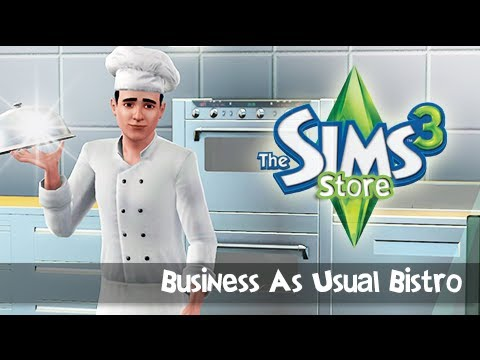 The Sims 3 Store: Business As Usual Bistro - Review/First Impression.